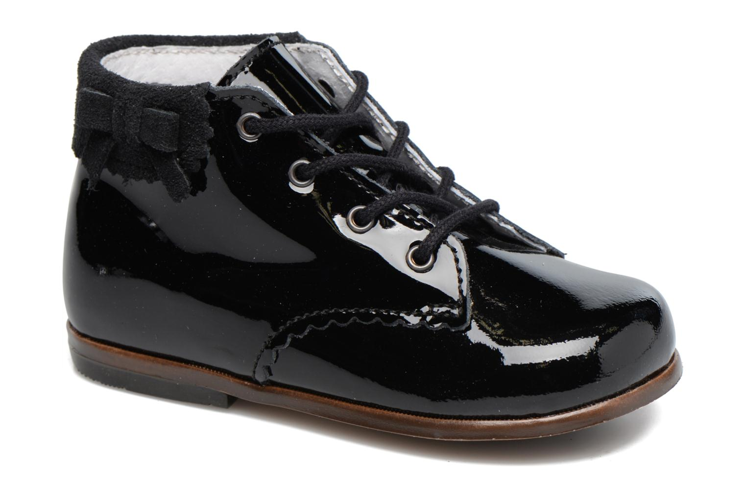 Ankle boots Little Mary OLEA Black detailed view/ Pair view