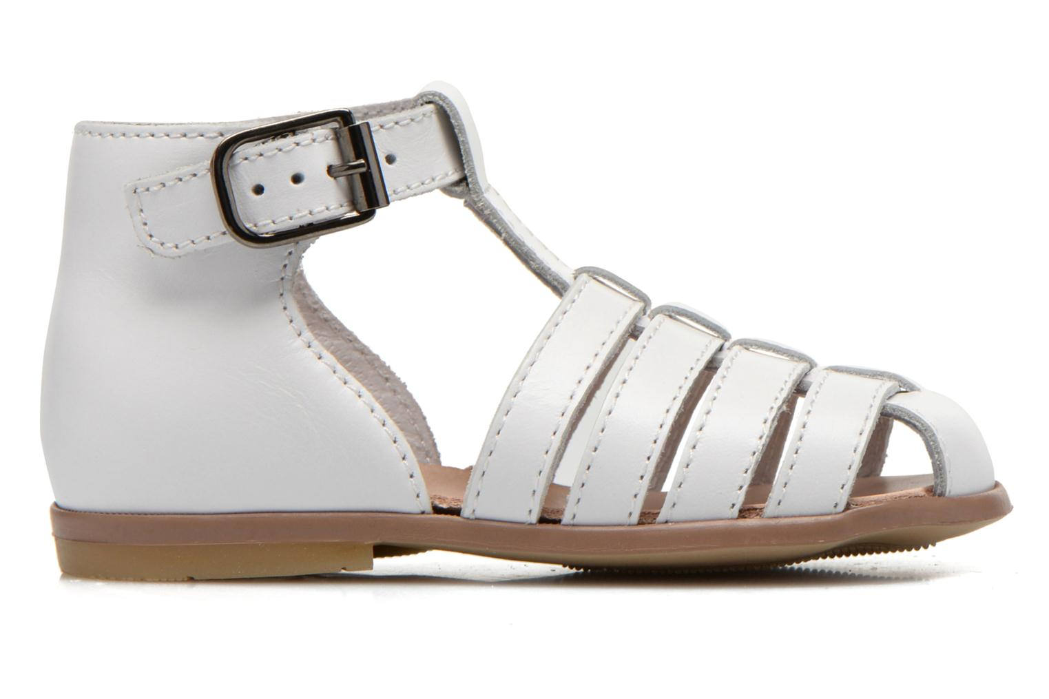 Sandals Little Mary Jules White back view