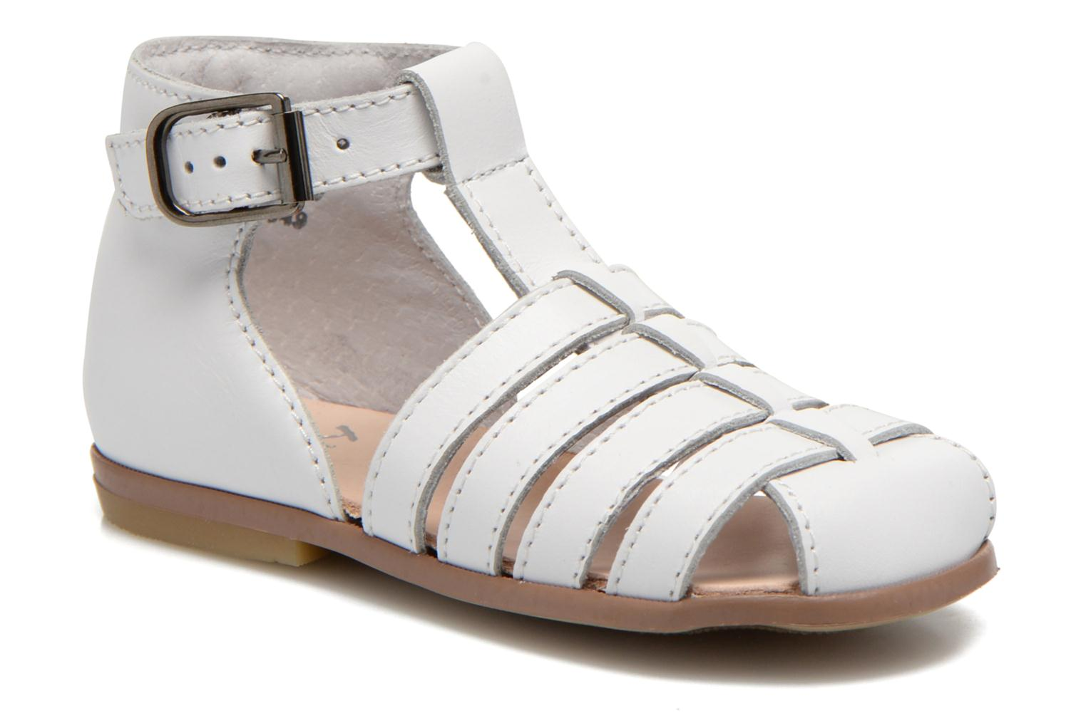 Sandals Little Mary Jules White detailed view/ Pair view