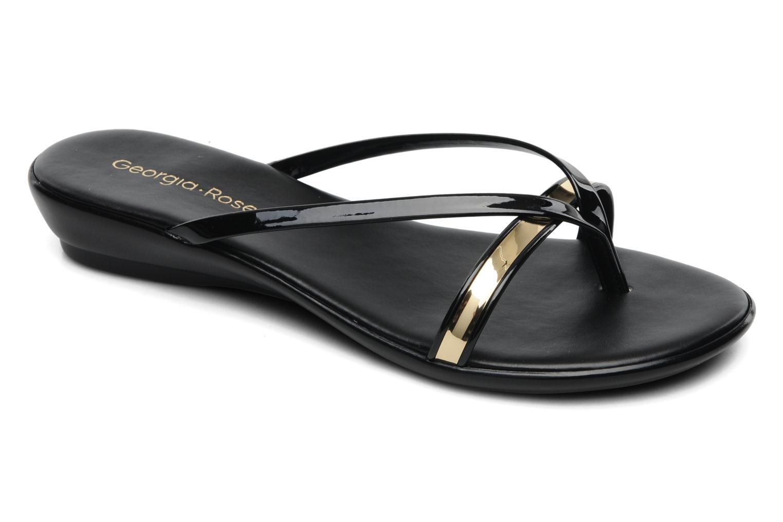 Sandales et nu-pieds Georgia Rose Carabine Noir vue détail/paire