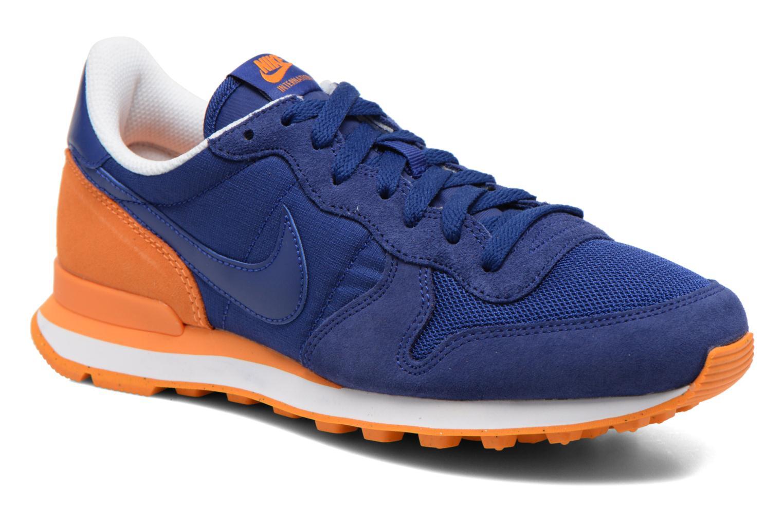 Sneakers Nike Nike Internationalist Blauw detail