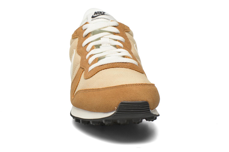 Sneaker Nike Nike Internationalist beige schuhe getragen