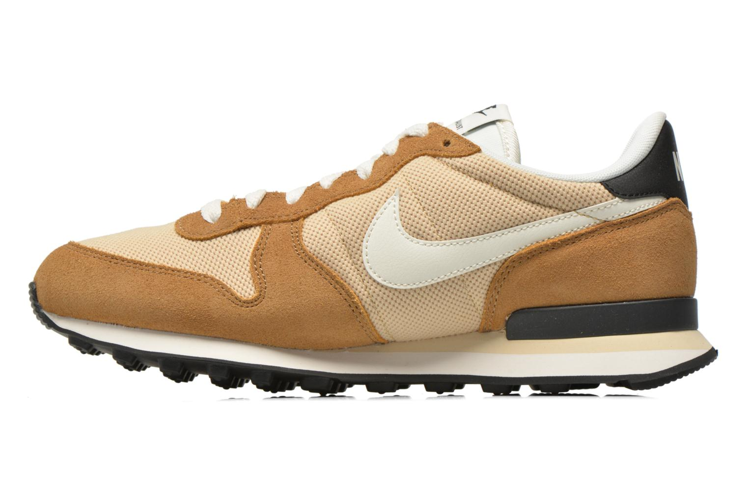 Baskets Nike Nike Internationalist Beige vue face