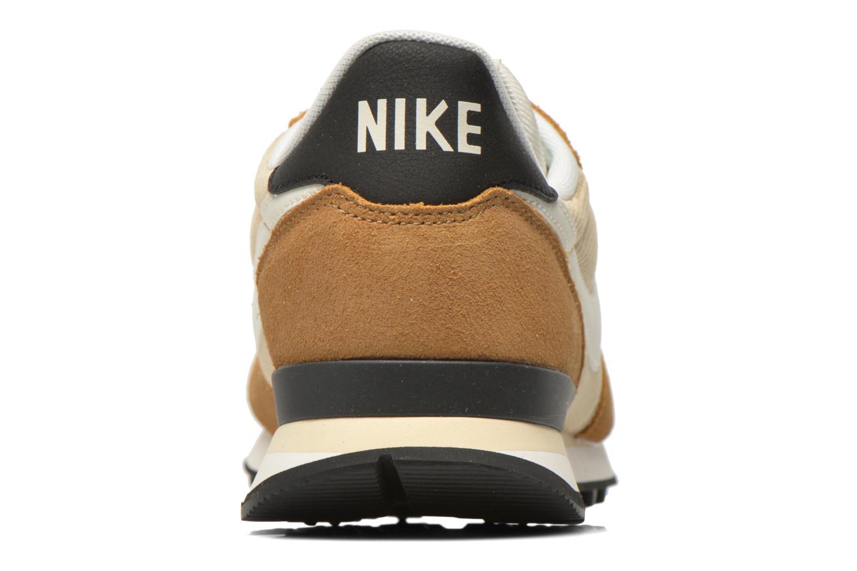 Sneaker Nike Nike Internationalist beige ansicht von rechts