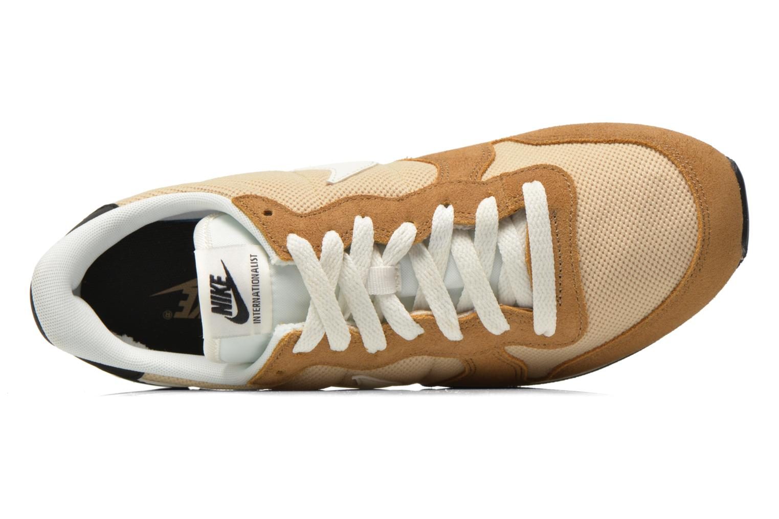 Sneaker Nike Nike Internationalist beige ansicht von links