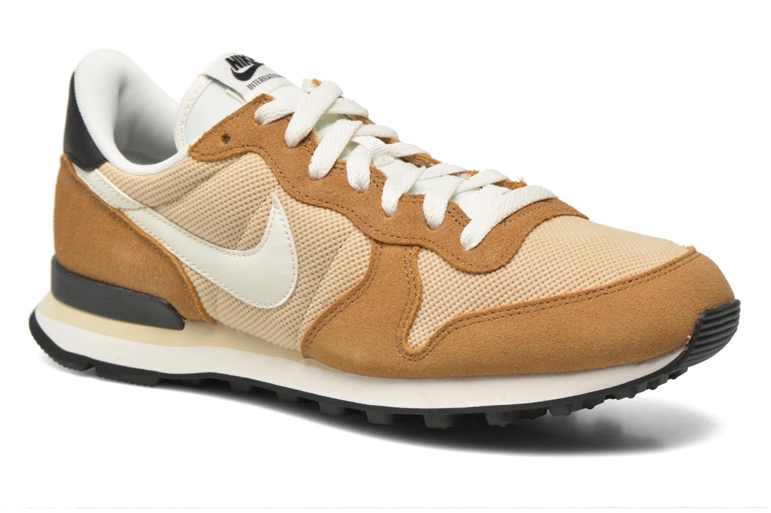 Baskets Nike Nike Internationalist Beige vue détail/paire
