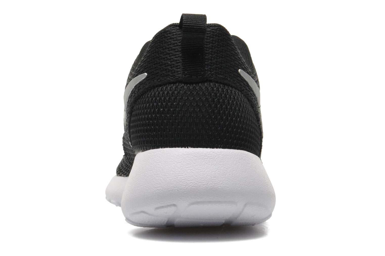 Wmns Nike Roshe One Black/Mtlc Platinum-White