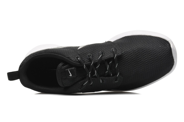 Wmns Nike Roshe One Black/Mtlc Platinum-White