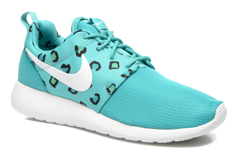 Baskets Nike Wmns Nike Rosherun Print Vert vue détail/paire