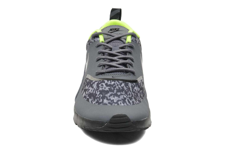 Sneaker Nike Wmns Nike Air Max Thea Print grau schuhe getragen