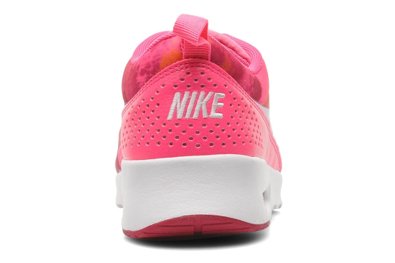 Baskets Nike Wmns Nike Air Max Thea Print Rose vue droite