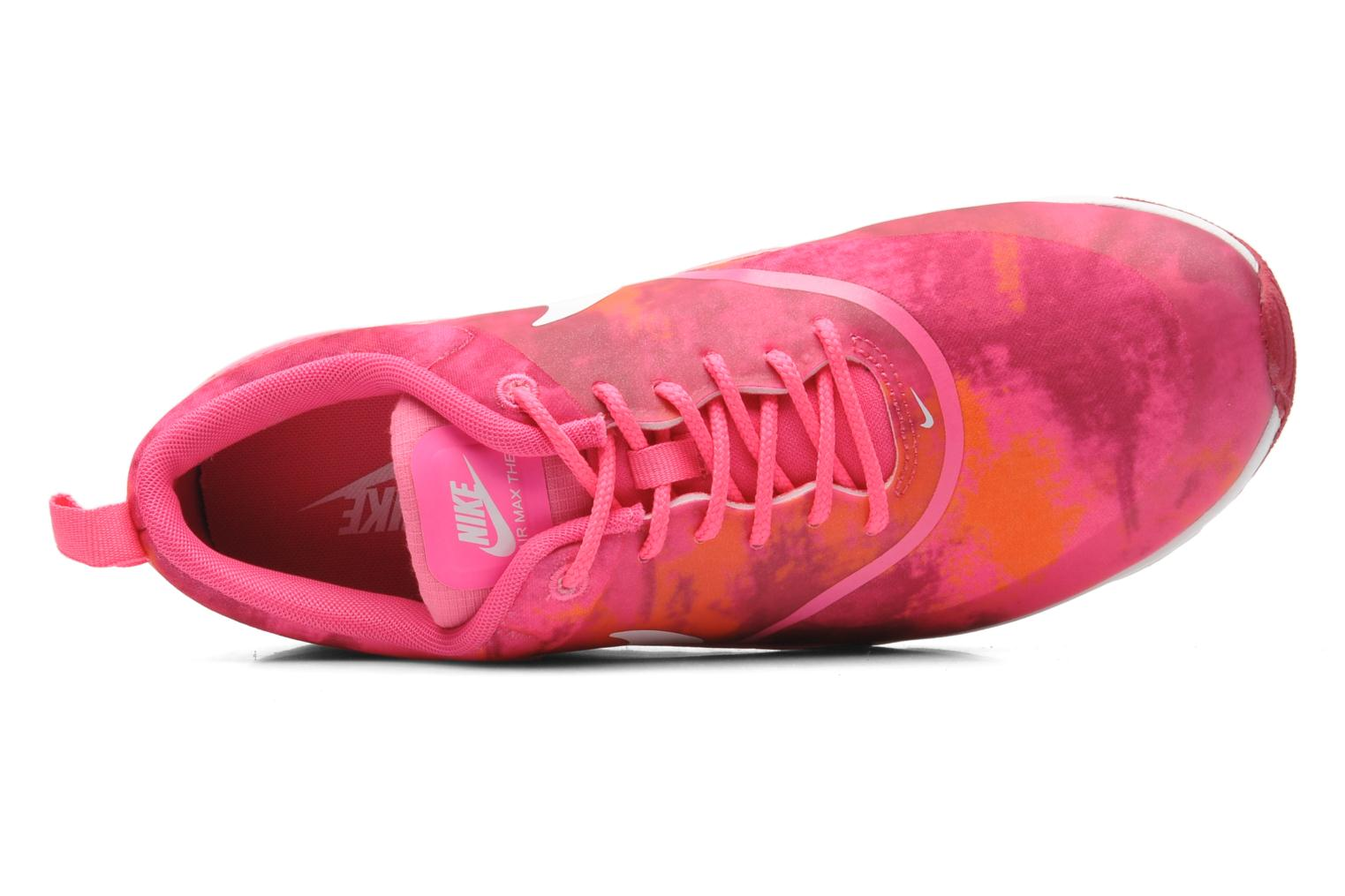 Wmns Nike Air Max Thea Print Pink Pow/White-Frbrry-Ttl Orng