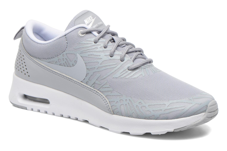 Wmns Nike Air Max Thea Print Wlf Gry/Wlf Gry-Wht-Mtllc Slvr