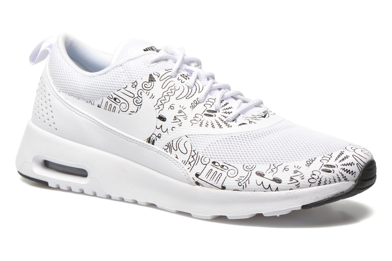 Wmns Nike Air Max Thea Print White/white-Black