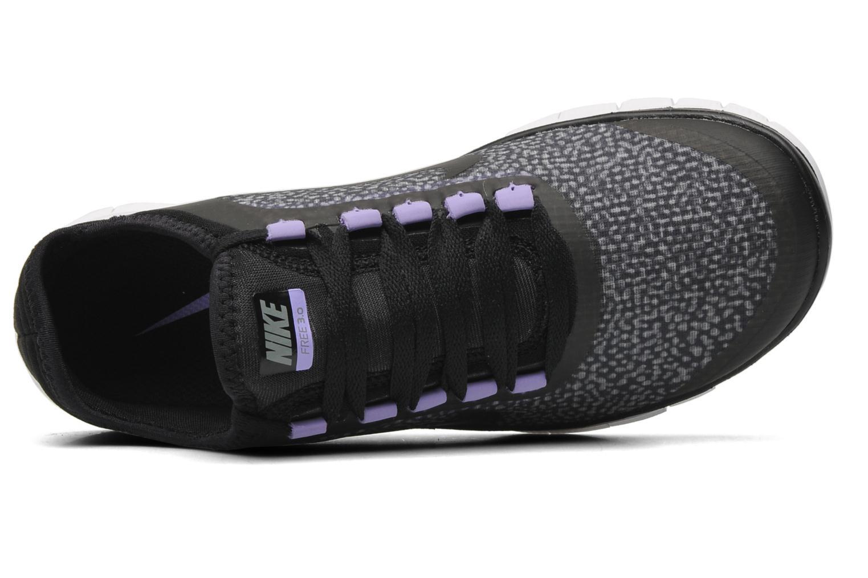 Chaussures de sport Nike Wmns Nike Free 3.0 V5 Ext Noir vue gauche