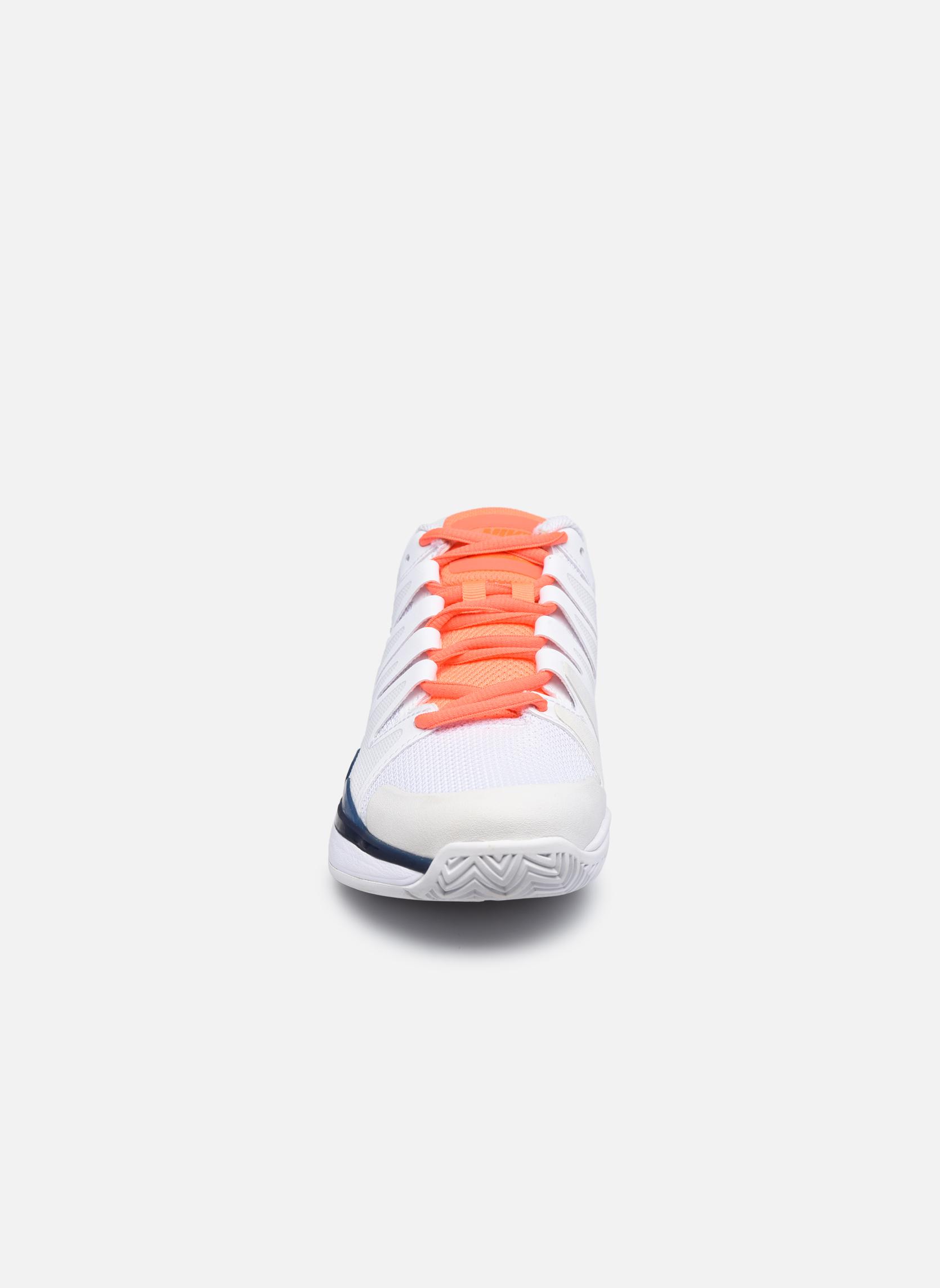 Sportschuhe Nike Nike Zoom Vapor 9.5 Tour weiß schuhe getragen