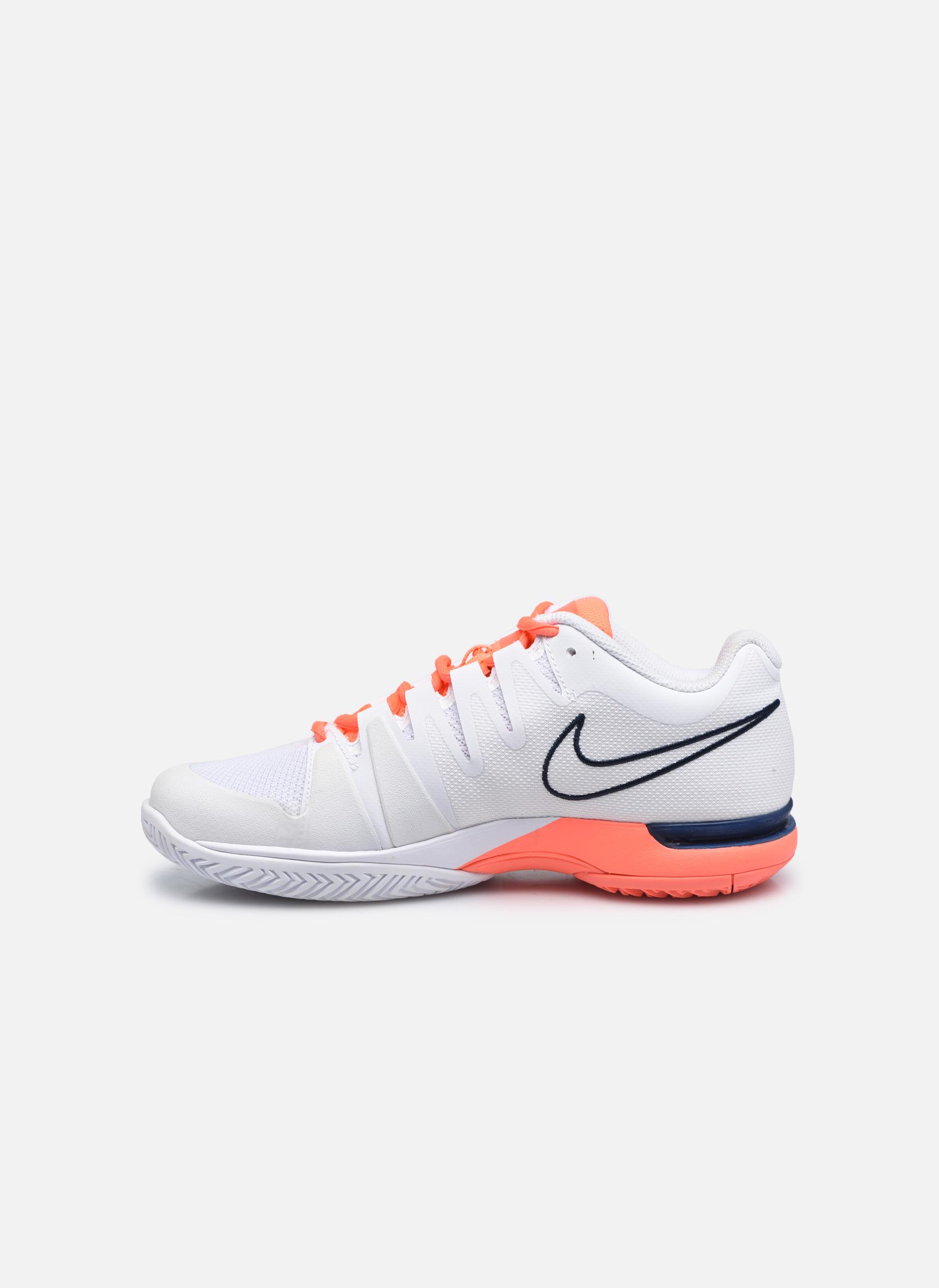 Sportschuhe Nike Nike Zoom Vapor 9.5 Tour weiß ansicht von vorne