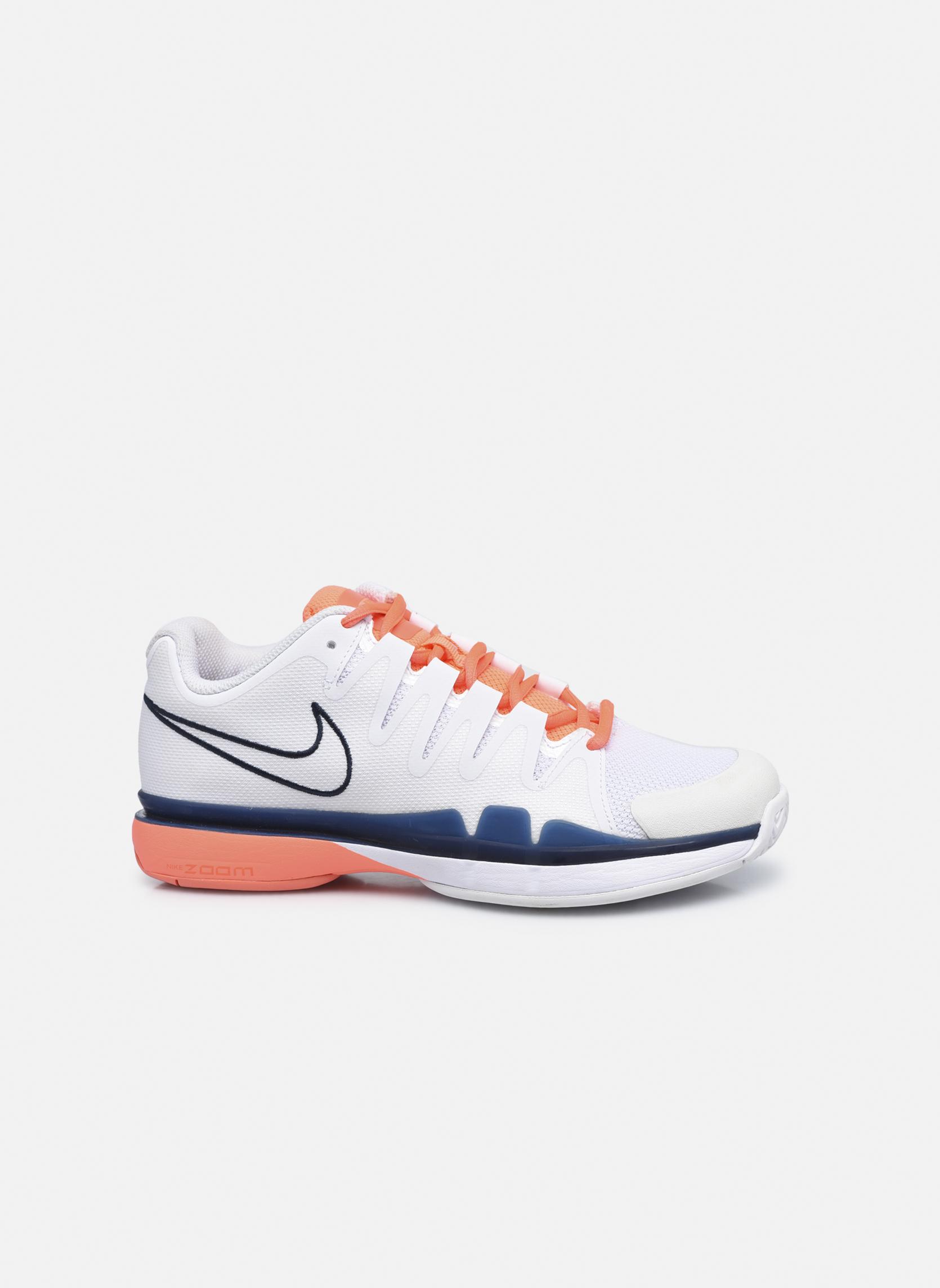 Chaussures de sport Nike Nike Zoom Vapor 9.5 Tour Blanc vue derrière