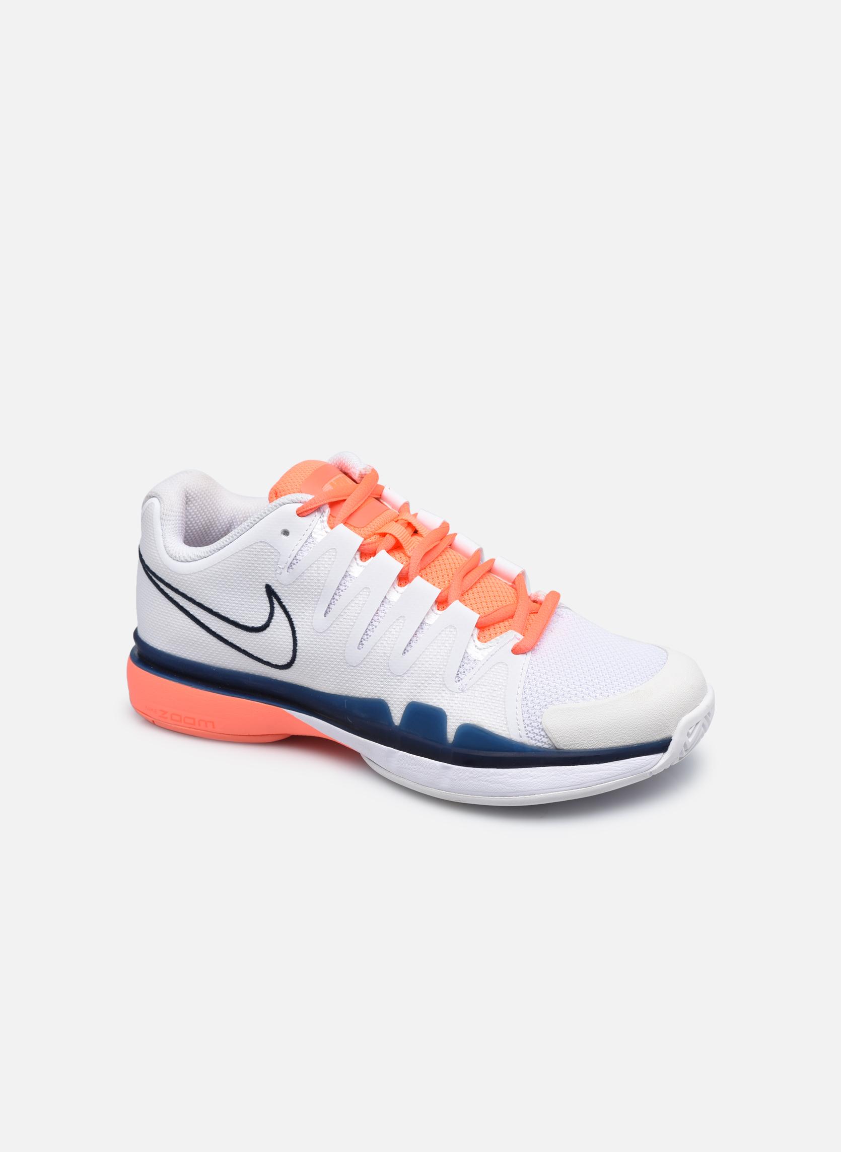 Chaussures de sport Nike Nike Zoom Vapor 9.5 Tour Blanc vue détail/paire