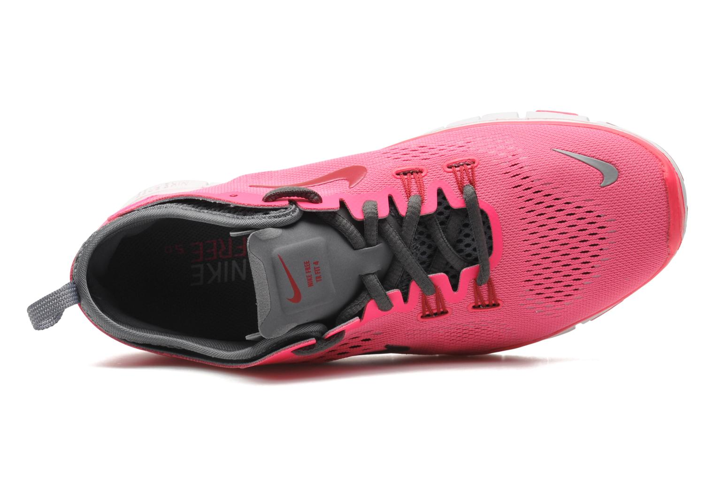 Chaussures de sport Nike Wmns Nike Free 5.0 Tr Fit 4 Rose vue gauche