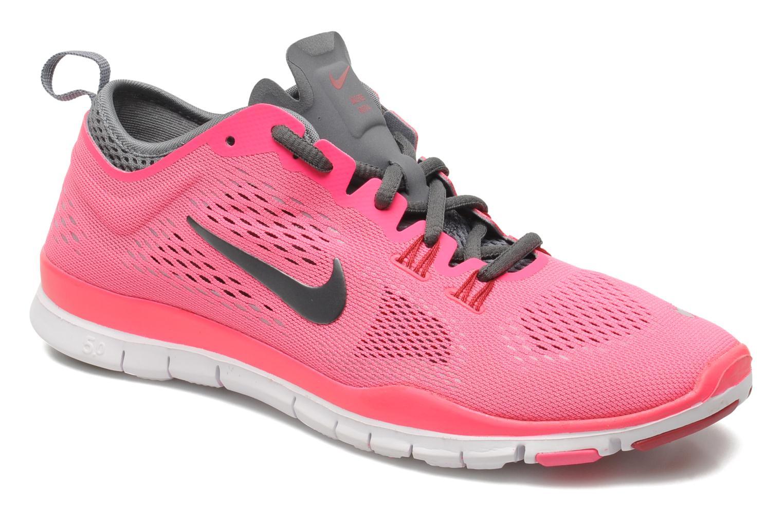 Chaussures de sport Nike Wmns Nike Free 5.0 Tr Fit 4 Rose vue détail/paire