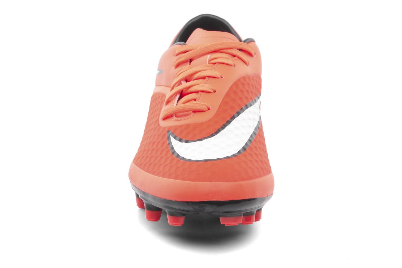 Sportschuhe Nike Hypervenom Phelon Fg orange schuhe getragen