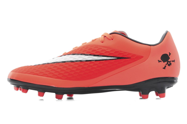 Sportschuhe Nike Hypervenom Phelon Fg orange ansicht von vorne