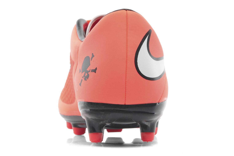 Sportschuhe Nike Hypervenom Phelon Fg orange ansicht von rechts