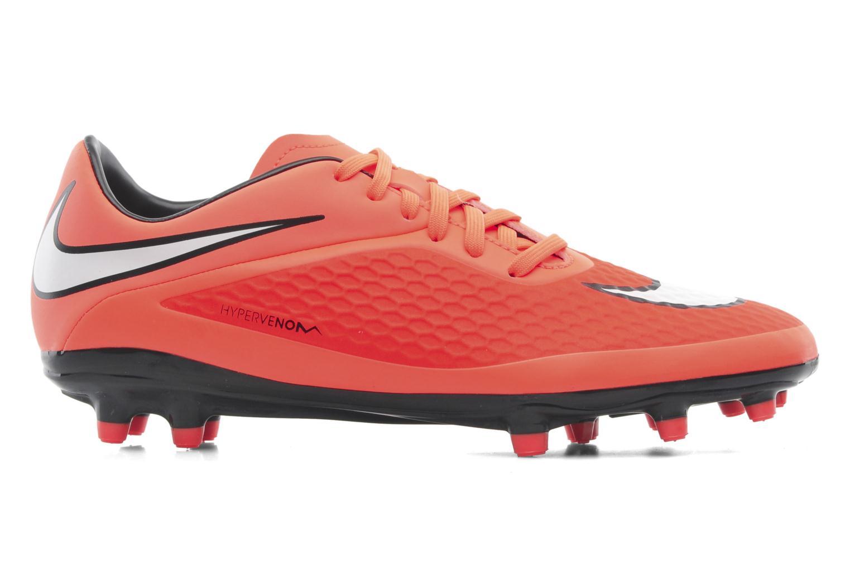 Sportschuhe Nike Hypervenom Phelon Fg orange ansicht von hinten