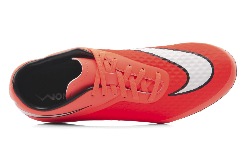 Sportschuhe Nike Hypervenom Phelon Fg orange ansicht von links