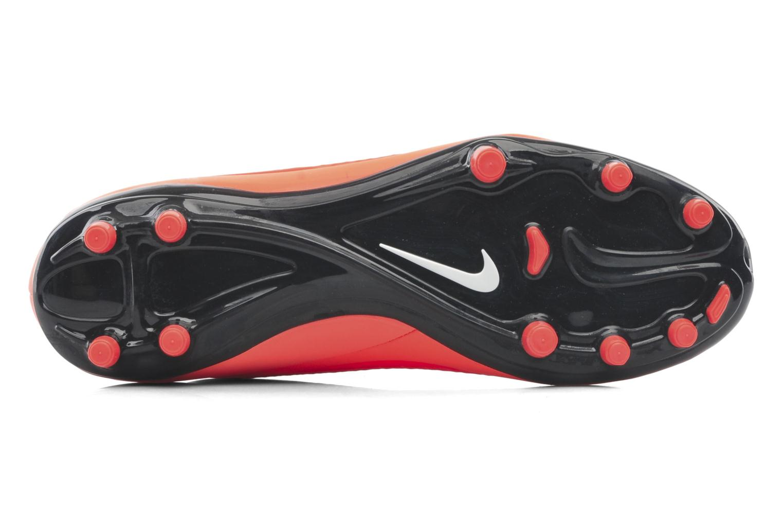 Sportschuhe Nike Hypervenom Phelon Fg orange ansicht von oben