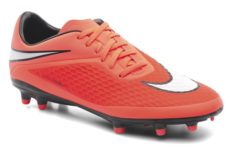 Sportschoenen Nike Hypervenom Phelon Fg Oranje detail