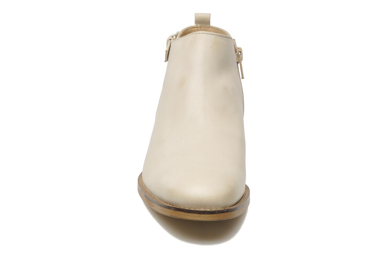 Bottines et boots Georgia Rose Tatouille Beige vue portées chaussures