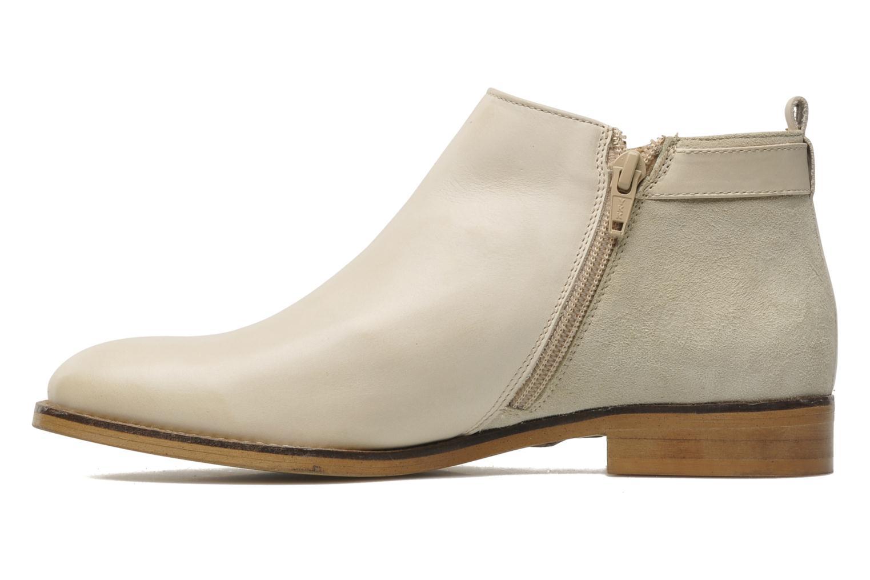 Bottines et boots Georgia Rose Tatouille Beige vue face