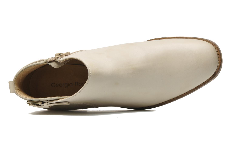 Bottines et boots Georgia Rose Tatouille Beige vue gauche