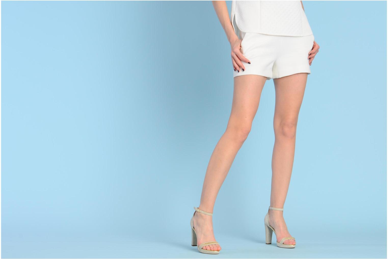 Sandales et nu-pieds Georgia Rose Tatilie Beige vue bas / vue portée sac