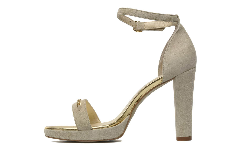Sandales et nu-pieds Georgia Rose Tatilie Beige vue face