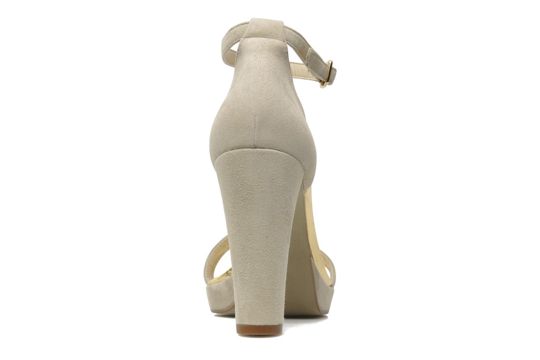 Sandales et nu-pieds Georgia Rose Tatilie Beige vue droite
