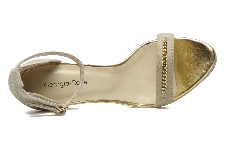 Sandales et nu-pieds Georgia Rose Tatilie Beige vue gauche