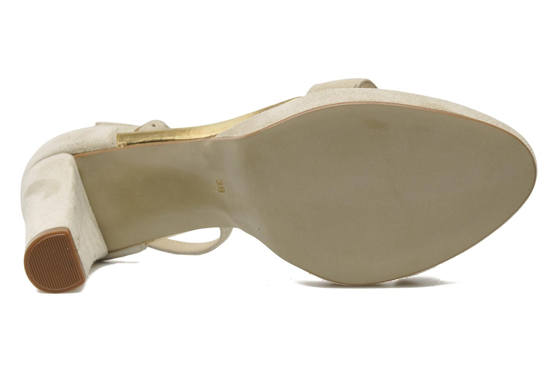 Sandales et nu-pieds Georgia Rose Tatilie Beige vue haut