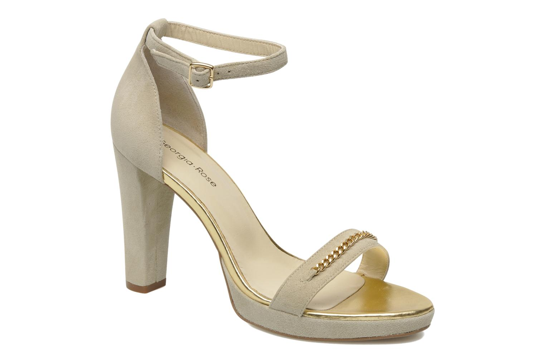 Sandales et nu-pieds Georgia Rose Tatilie Beige vue détail/paire