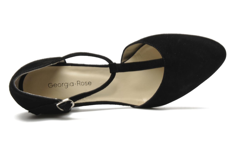 Escarpins Georgia Rose Tatame Noir vue gauche