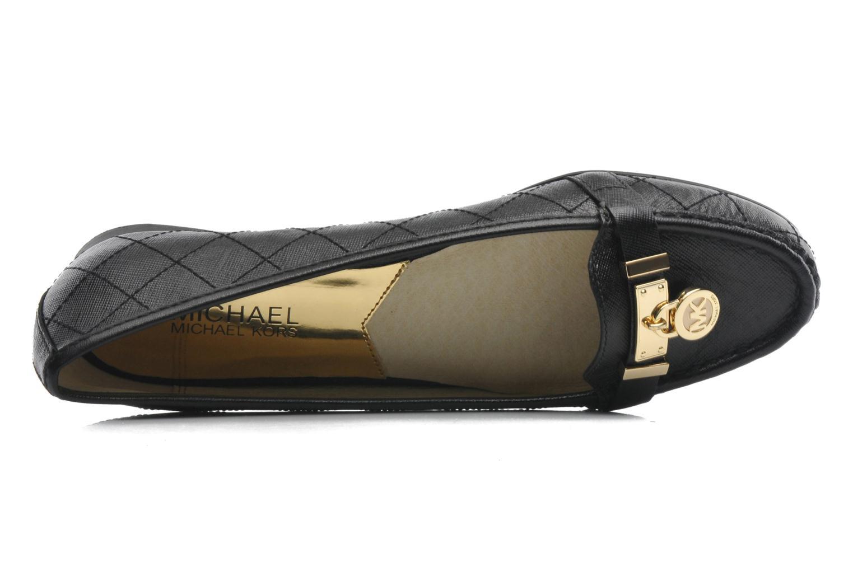 Loafers Michael Michael Kors Hamilton Moc Svart bild från baksidan