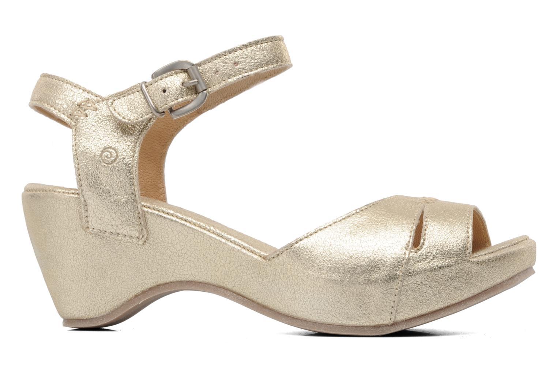 Sandales et nu-pieds Khrio Shika Or et bronze vue derrière