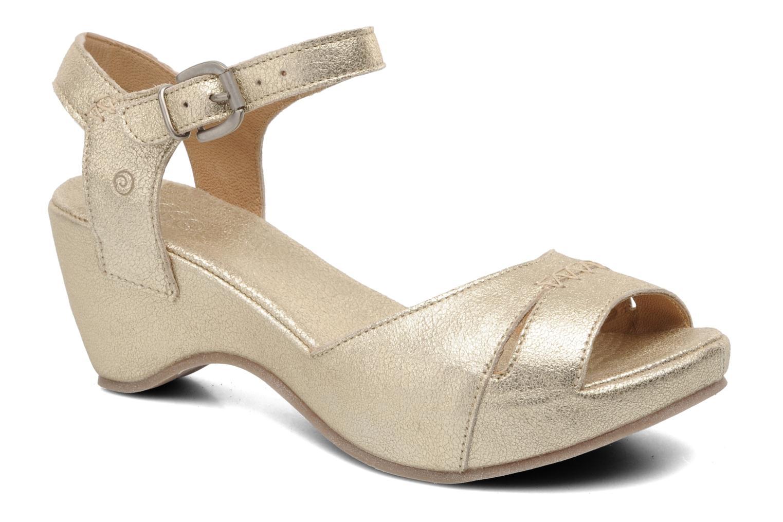 Sandales et nu-pieds Khrio Shika Or et bronze vue détail/paire