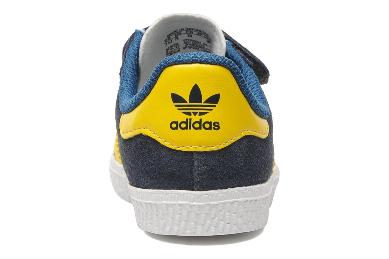 Sneakers Adidas Originals Gazelle Cf 2 I Blauw rechts