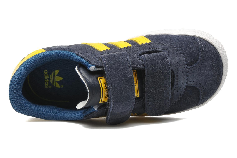 Sneakers Adidas Originals Gazelle Cf 2 I Blauw links