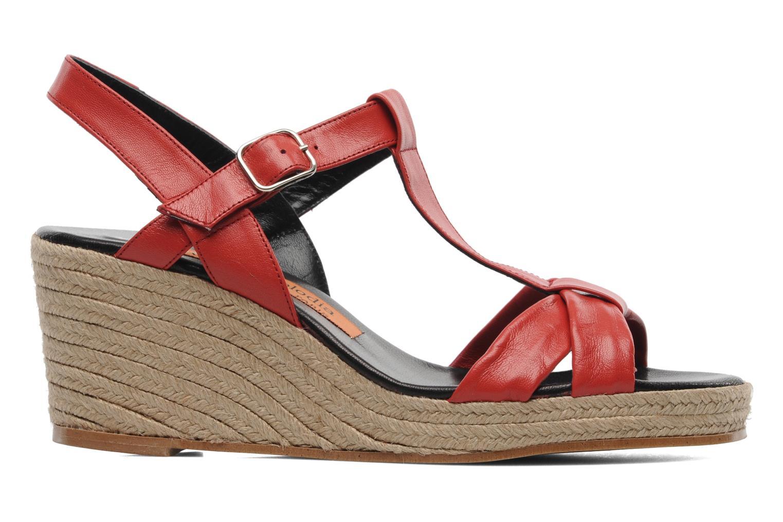 Sandales et nu-pieds Anna Volodia Jemeo Rouge vue derrière
