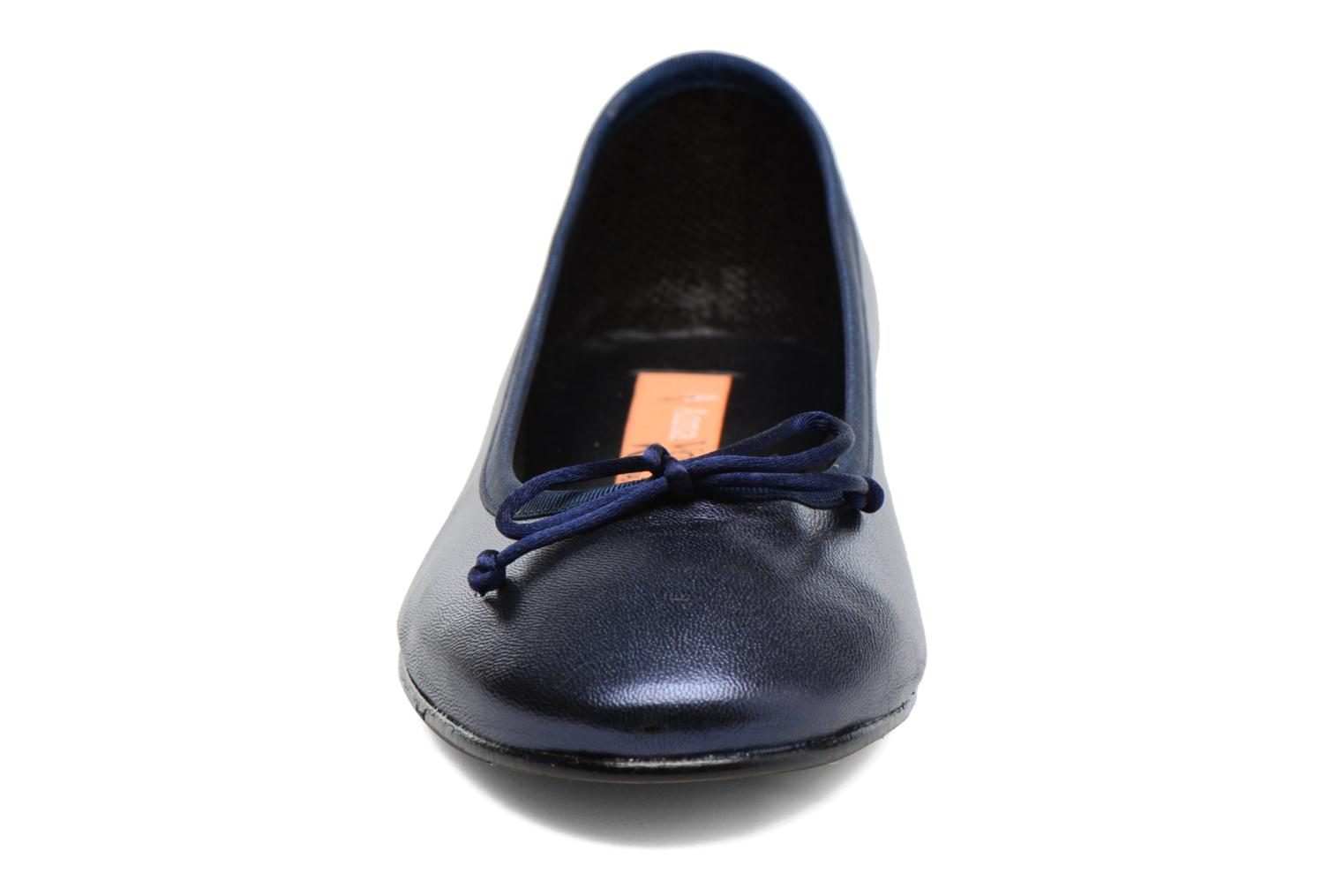 Ballet pumps Anna Volodia Luna Blue model view