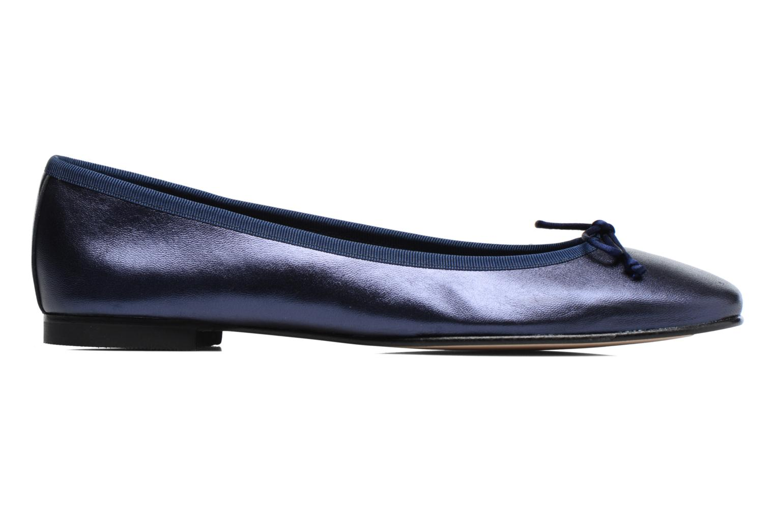 Ballet pumps Anna Volodia Luna Blue back view